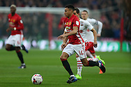 Jesse Lingard of Manchester Utd in action. EFL Cup Final 2017, Manchester Utd v Southampton at Wembley Stadium in London on Sunday 26th February 2017. pic by Andrew Orchard, Andrew Orchard sports photography.