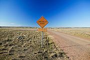 Unfenced Road, near Junee, NSW, Australia