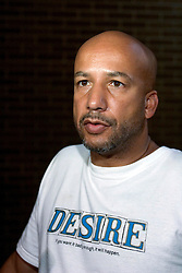 2nd Sept, 2005. New Orleans Louisiana.<br /> Mayor Ray Nagin addresses the media at the Hyatt Hotel in New Orleans after a long day meeting with the President.<br /> Photo; Charlie Varley/varleypix.com