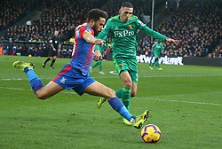 January 12, 2019 - London, England, United Kingdom - London, England - 12 January, 2019.Crystal Palace's Andros Townsend.during English Premier League between Crystal Palace and Watford at Selhurst Park stadium , London, England on 12 Jan 2019. (Credit Image: © Action Foto Sport/NurPhoto via ZUMA Press)