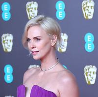 Charlize Theron, EE British Academy Film Awards, Royal Albert Hall, London, UK, 02 February 2020, Photo by Richard Goldschmidt