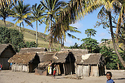 Madagascar, Anosy region Fishing village
