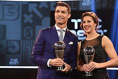 Zuerich- The Best FIFA Football Awards 2016 - 09 Jan 2017