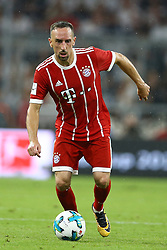 August 1, 2017 - Munich, Germany - Franck Ribery of Bayern during the second Audi Cup football match between FC Bayern Munich and FC Liverpool in the stadium in Munich, southern Germany, on August 1, 2017. (Credit Image: © Matteo Ciambelli/NurPhoto via ZUMA Press)