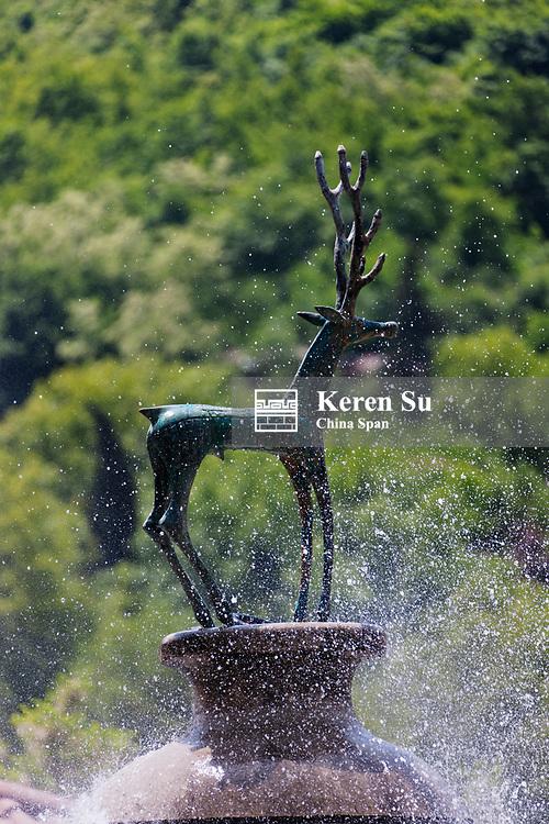 Fountain, Sighnaghi, Georgia