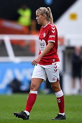 Gemma Evans of Bristol City Women - Mandatory by-line: Ryan Hiscott/JMP - 18/10/2020 - FOOTBALL - Twerton Park - Bath, England - Bristol City Women v Birmingham City Women - Barclays FA Women's Super League