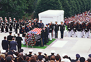 President Roanld Reagan participated in the Burial of the Unknown Soldier at Arlington Cemetery on May 28,1984<br /> <br /> by Dennis Brack