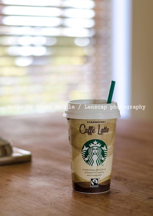 Starbucks Caffe Latte Take Away Coffee