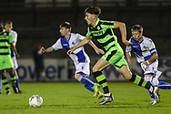 Forest Green Rovers Lewis Spurrier(10) runs forward during the The FA Youth Cup match between Bristol Rovers and Forest Green Rovers at the Memorial Stadium, Bristol, England on 2 November 2017. Photo by Shane Healey.