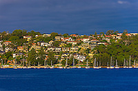 Along the harbor in Manly, Sydney, New South Wales, Australia