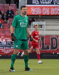 Kevin Stuhr Ellegaard (FC Helsingør) under kampen i 1. Division mellem FC Fredericia og FC Helsingør den 4. oktober 2020 på Monjasa Park i Fredericia (Foto: Claus Birch).