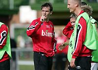 Fotball, 31. mai 2005, Trening Norge,  Claus Lundekvam <br /> May 31. 2005, Training Norway, Claus Lundekvam