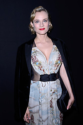 Diane Kruger attending the Giorgio Armani Prive show as part of Paris Haute Couture Fashion Week Spring/Summer 2018-2019 on January 23, 2018 in Paris, France. Photo by Aurore Marechal/ABACAPRESS.COM