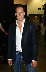Dancer BRENDAN COLE at the opening party of the new Frankie's Bar & Grill at Selfridges, Oxford Street, London on 6th September 2006.<br />