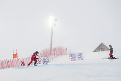 February 9, 2019 - Re, SWEDEN - 190209 Maintenance of the slopes ahead of the downhill during the FIS Alpine World Ski Championships on February 9, 2019 in re  (Credit Image: © Daniel Stiller/Bildbyran via ZUMA Press)