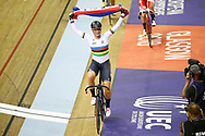 Women Omnium, Kirsten Wild (Netherlands) gold medal during the Track Cycling European Championships Glasgow 2018, at Sir Chris Hoy Velodrome, in Glasgow, Great Britain, Day 5, on August 6, 2018 - Photo luca Bettini / BettiniPhoto / ProSportsImages / DPPI<br /> - Restriction / Netherlands out, Belgium out, Spain out, Italy out -