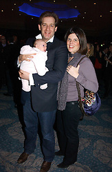 JAMIE & CLAIR BARBER and their daughter LOLA at the Tatler Restaurant Awards held at The Dorchester, Park Lane, London on 22nd January 2007.<br /><br />NON EXCLUSIVE - WORLD RIGHTS