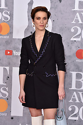February 20, 2019 - London, United Kingdom of Great Britain and Northern Ireland - Vicky McClure arriving at The BRIT Awards 2019 at The O2 Arena on February 20, 2019 in London, England  (Credit Image: © Famous/Ace Pictures via ZUMA Press)