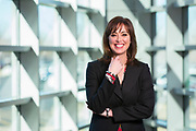 Executive portrait of Tyson Foods Inc. chief growth officer Monica McGurk in February 2017<br /> <br /> Photo by Beth Hall