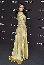 Salma Hayek attends the 2018 LACMA Art + Film Gala at LACMA on November 3, 2018 in Los Angeles, CA, USA. Photo by Lionel Hahn/ABACAPRESS.COM