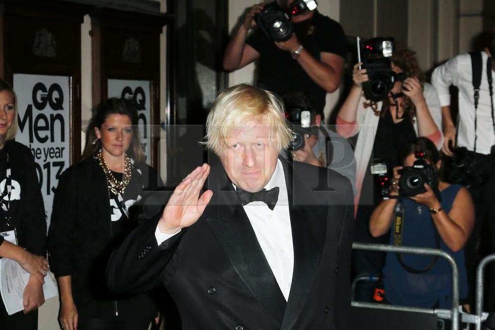 Boris Johnson, GQ Men of the Year Awards, Royal Opera House, London UK, 03 September 2013, (Photo by Richard Goldschmidt)
