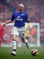 Photo: Paul Thomas.<br /> Liverpool v Everton. The Barclays Premiership. 03/02/2007.<br /> <br /> Andy Johnson of Everton.