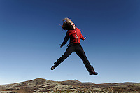 Jump around at Dovre..Storhaugen..