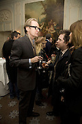 BILL NIGHY AND TOM HOLLANDER, Tim Noble and Sue Webster: Sacrificial Heart. Gagosian . Davies St. London and afterwards Claridges. 11 December 2007. . -DO NOT ARCHIVE-© Copyright Photograph by Dafydd Jones. 248 Clapham Rd. London SW9 0PZ. Tel 0207 820 0771. www.dafjones.com.