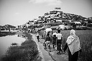 Jamtoli refugee camp, Bangladesh (October 26, 2017)