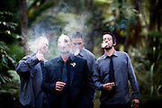 jemima & manu's surprise wedding on the coromandel peninsula at tangiaro retreat by felicity jean photography cool ideas for your wedding 2016/2017 flowers venue's nibbles dresses sign boards dressing up your pets props for photos ceremony styling photo booths bands cakes and more