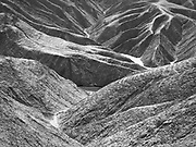 Death Valley in black and white