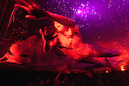 """Fuerza Bruta, a show called """"psychedelic"""" at the Centro Cultural Recoleta"""