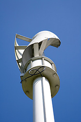 Vertical Axis Wind Turbine for electricity generation at the Nottingham University's EcoHouse,