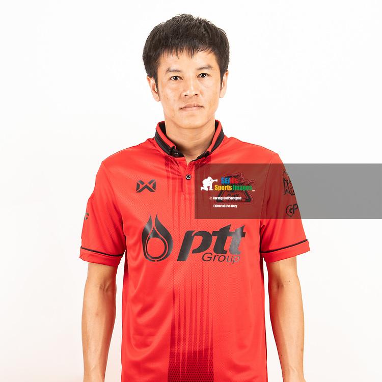 THAILAND - JUNE 09: Pornpreecha Jarunai #29 of PTT Rayong FC on June 09, 2019.<br /> .<br /> .<br /> .<br /> (Photo by: Naratip Golf Srisupab/SEALs Sports Images/MB Media Solutions)