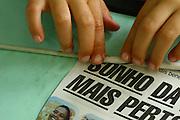 Belo Horizonte_MG, Brasil...Projeto Escola Aberta, na Escola Municipal Helio Pelegrino...The Escola Aberta project in the Municipal School Helio Pelegrino. ..Foto: BRUNO MAGALHAES / NITRO