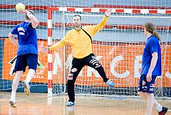 Beno Lapajne at practice of Slovenian Handball Men National Team, on June 4, 2009, in Arena Kodeljevo, Ljubljana, Slovenia. (Photo by Vid Ponikvar / Sportida)
