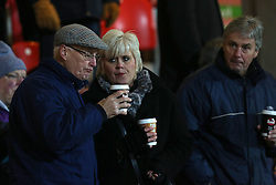 Yeovil fans- Photo mandatory by-line: Matt Bunn/JMP - Tel: Mobile: 07966 386802 22/11/2013 - SPORT - Football - Doncaster - Keepmoat Stadium - Doncaster Rovers v Yeovil Town - Sky Bet Championship