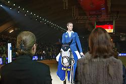 Ahlmann Christian (GER) - Caribis Z <br /> Prijs Leon Melchior Open Studbook Zangersheide<br /> Vlaanderen Kerstjumping - Memorial Eric Wauters - <br /> Mechelen 2015<br /> © Hippo Foto - Dirk Caremans<br /> 27/12/15