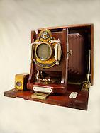 Century Half Plate wooden View Camera