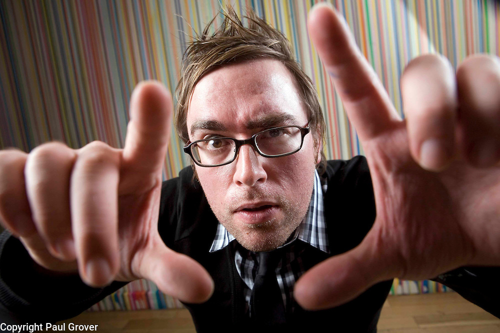 Danny Wallace at the Groucho Club