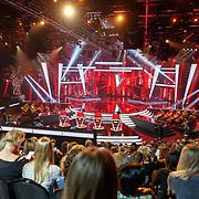 NLD/Hilversum/20180209 - 3e Liveshows The voice of Holland 2018, studio