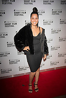 Candice Townsend at the TriForce Short Film Festival gala ceremony, BFI Southbank, London, UK - 30 Nov 2019