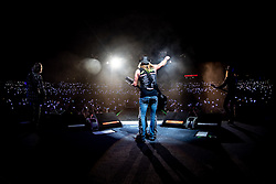June 19, 2018 - Toronto, Ontario, Canada - American glam rock veterans 'Poison' performed a show at Budweiser Stage in Toronto as part of their ''Nothin' But A Good Time' Tour. Band members: BRET MICHAELS, C.C. DEVILLE, BOBBY DALL and RIKKI ROCKETT, (Credit Image: © Igor Vidyashev via ZUMA Wire)