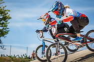 2021 UCI BMXSX World Cup<br /> Round 2 at Verona (Italy)<br /> ^we#41 SUVOROVA, Natalia (RUS, WE) Chase, Team_RUS, Lead<br /> ^we#971 VALENTINO, Manon (FRA, WE) Sunn, Kenny, 100%