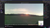 Screenshot of Loominairy's Live Stream from Playa https://www.twitch.tv/loominairy/