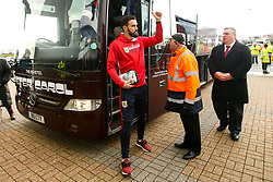 Marlon Pack of Bristol City arrives at Pride Park Stadium for the Sky Bet Championship game against Derby County - Mandatory by-line: Robbie Stephenson/JMP - 22/12/2018 - FOOTBALL - Pride Park Stadium - Derby, England - Derby County v Bristol City - Sky Bet Championship