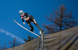 Simon Ammann (SUI) during the Qualification Round of the Ski Flying Hill Individual Competition at Day 1 of FIS Ski Jumping World Cup Final 2019, on March 21, 2019 in Planica, Slovenia. Photo by Masa Kraljic / Sportida