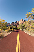 The Pa'rus Trail Zion National Park, Utah, United States of America