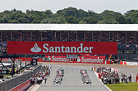 MOTORSPORT - F1 2013 - BRITISH GRAND PRIX - GRAND PRIX D'ANGLETERRE - SILVERSTONE (GBR) - 28 TO 30/06/2013 - PHOTO : FREDERIC LE FLOC'H / DPPI<br /> START / ACTION
