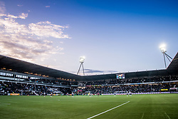 overview during the Dutch Eredivisie match between Heracles Almelo and Feyenoord Rotterdam at Polman stadium on September 09, 2017 in Almelo, The Netherlands